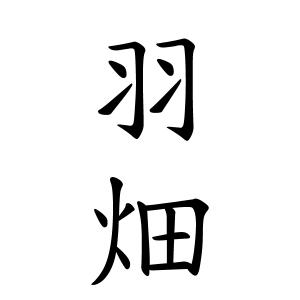 羽畑さんの名字の由来や読み方、全国人数・順位|名字検索No.1/名字 ...